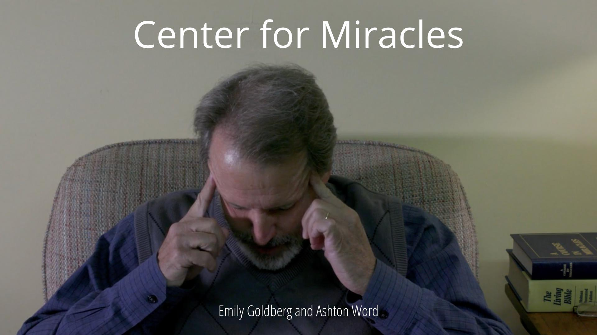Center for Miracles