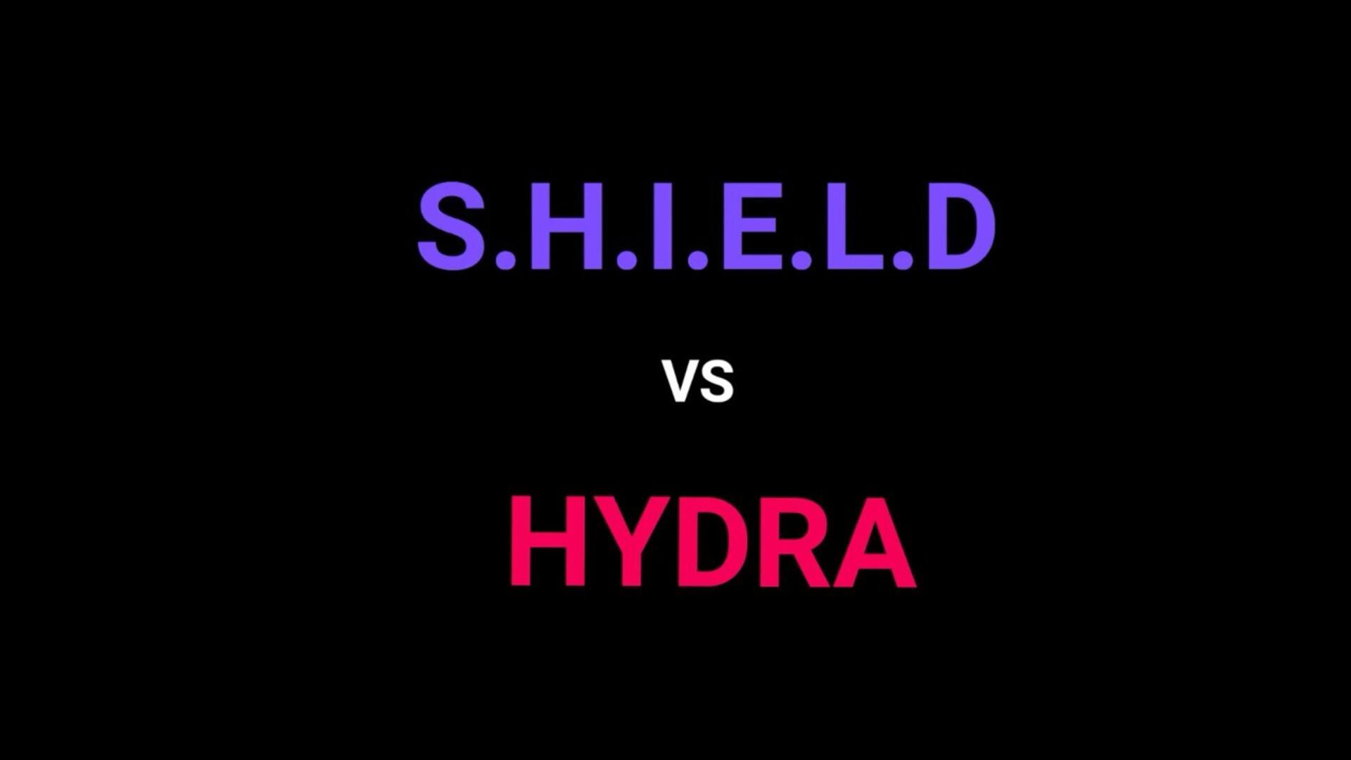 S.H.I.E.L.D    VS.     HYDRA